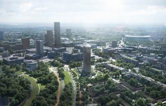 BunkerToren Eindhoven overview overdag