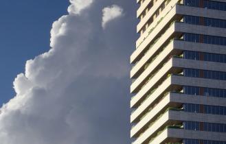 BunkerToren Eindhoven zijaanzicht