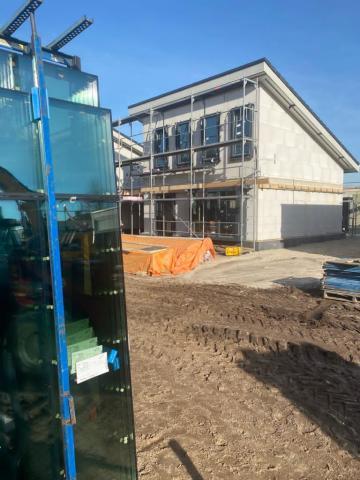 Van den Heuvel Afbouwgroep verzorgt glaswerk in Sint Anthonis